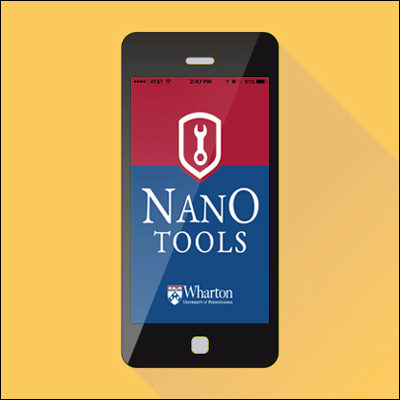 Wharton's New App: Nano Tools for Leaders®