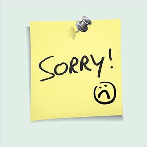 The Good Apology