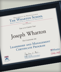 Leadership and Management Certificate