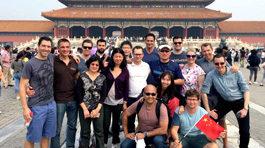 Wharton participants in China