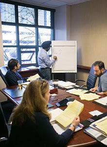 participants in classroom