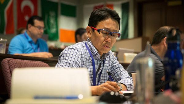 wharton participants in classroom
