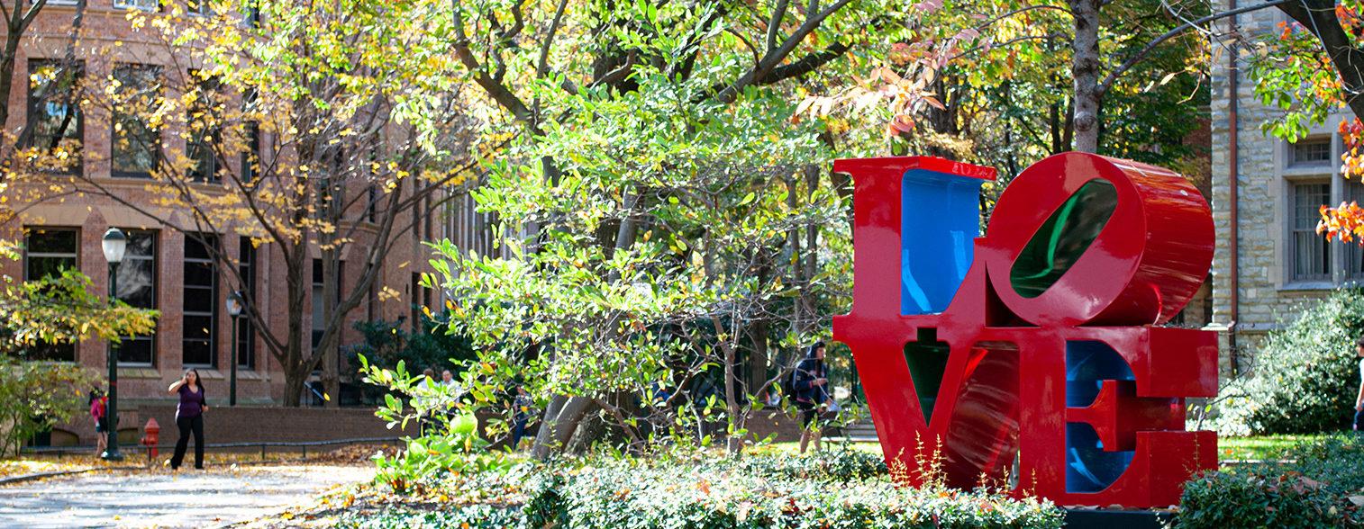 Love Statue, University of Pennsylvania