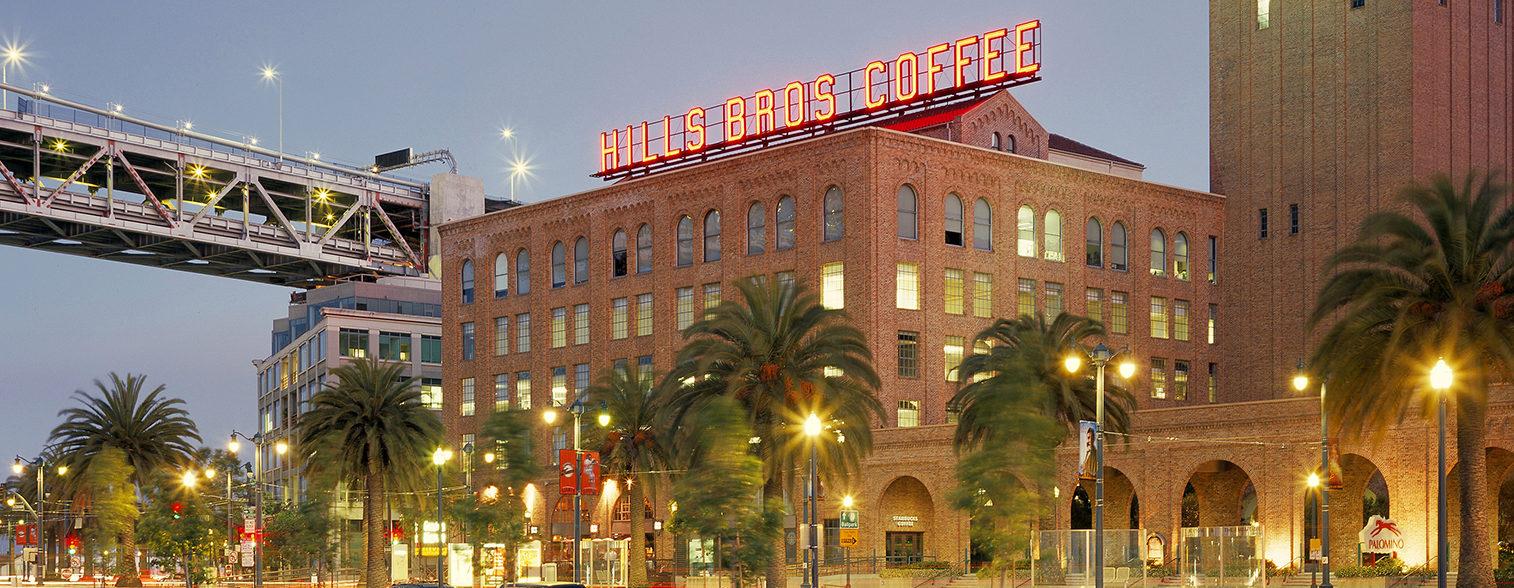 Hills Bros Plaza