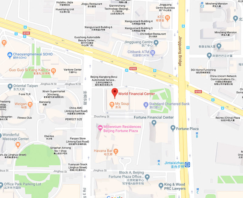 Beijing Google Map