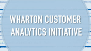Wharton Customer Analytics