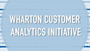 Wharton Customer Analytics Inititative