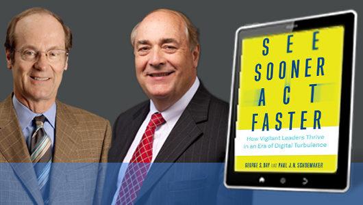 Wharton School Press: See Sooner Act Faster