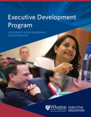 Executive Development Program Brochure