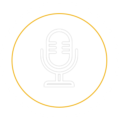 LIVECAST microphone icon
