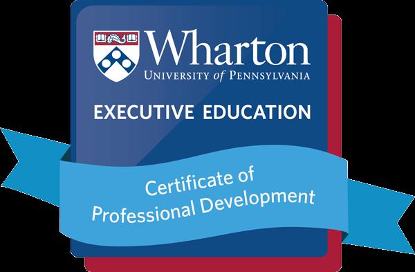 Certification of Professional Development Badge