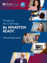 Wharton Program Calendar